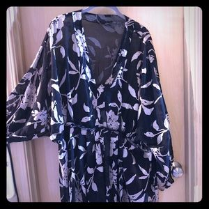 Lane Bryant  butterfly sleeve top